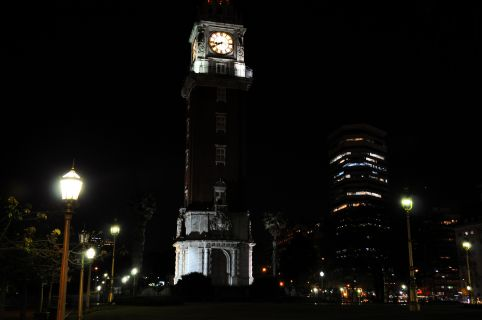 Buenos Aires - Torre de los Ingleses bei Nacht